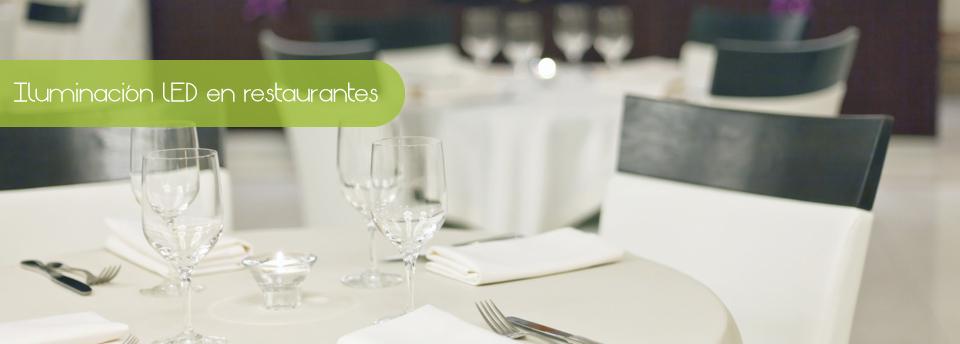 Iluminación led en restaurantes Image