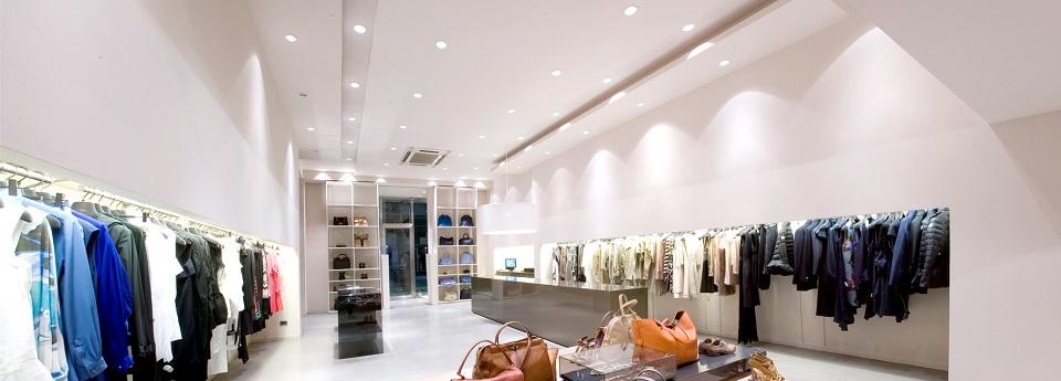 luminacion led e tiendas y comercios