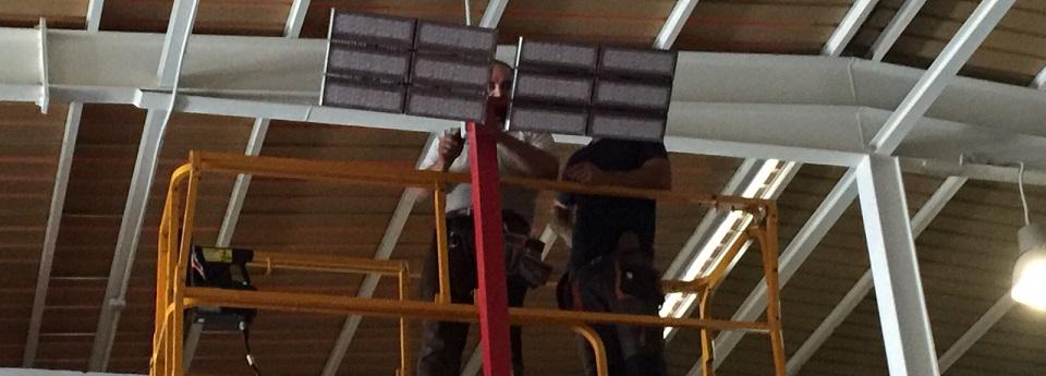 focos de led pista padel gran canaria padel indoor