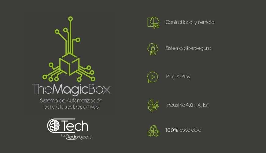 automatizacion clubes deportivos The magic box